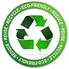 RECYCLE-upcycle ECO FRIENDLY (seal)