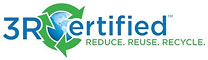 3R Certified - REDUCE REUSE RECYCLE