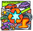 recycle cars artwork