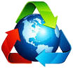 3 color recycling Earth (ES)