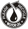 PLEASE RECYCLE MOTOR OIL