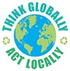 (recycle world): THINK GLOBALLY ACT LOCALLY