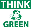 THINK (recycle) GREEN