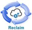 Reclaim (computing cloud, 4 arrows)