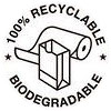 recyclable biodegradable (paper, bw)