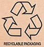 recyclable corrugated packaging