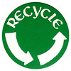 recycle (2 arrowa badge)