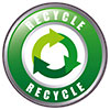 RECYCLE - 3 arrows around