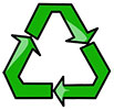 recycle 3 green arrows (hard breaks)