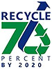 RECYCLE 70 PERCENT BY 2020 (Md, US)