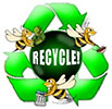 RECYCLE! [like bees]