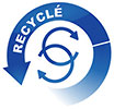 RECYCKLE' (blue circles, FR)
