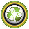 recycle button stylish