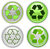 4 recycle buttons