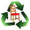 recycle chair