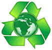 recycle Earth (clipart)