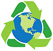 recycle earth model