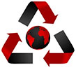 recycle Earth - red alert!