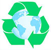 recycle earth sensitive