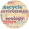 recycle ecology (letter ball)