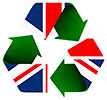 recycle flag (UK)