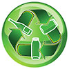 green glass recycling / going green