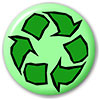 recycle (green-art badge)