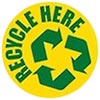 RECYCLE HERE (info, US)