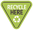 RECYCLE HERE (info, VectorOpenStock)