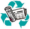 recycle newspapers daily