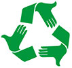 recycle open hands