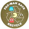 PAC-MAN SAYS - RECYCLE