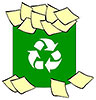 recycle paper slips (IL)