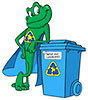 recycle paper (Superfrog)