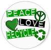 recycle peace love (DE)