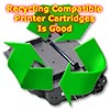 Recycle Compatible Printer Cartridges is Good