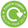 Recycle Week 2014 - Proud to support (UK)