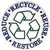 RECYCLE REUSE REDUCE RESTORE (stock)