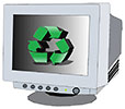 recycle reuse CRT computer monitors