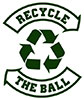 recycle rugby ball