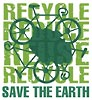 RECYCLE: SAVE THE EARTH