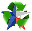 recycle & star - merge symbols