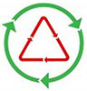 recycle twice (icon)