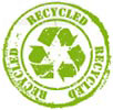 3x RECYCLED (stamp)