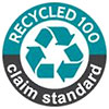 Textile Exchange - RECYCLED 100 [%] - claim ctandard