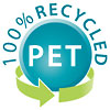 PET 100% RECYCLED