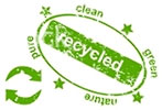 recycled clean-green (stamp)