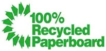 100% Recycled Paperboard (MX)