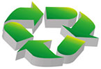 recycling (3D blocks)