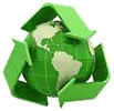 recycling 3D (Earth stock)